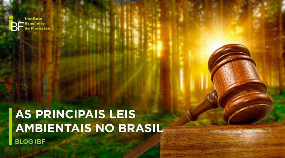 As principais leis ambientais do Brasil