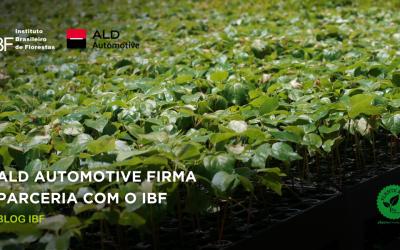 ALD Automotive firma parceria com o programa Plante Árvore