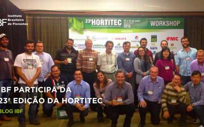 Instituto Brasileiro de Florestas participa da 23ª edição da HORTITEC