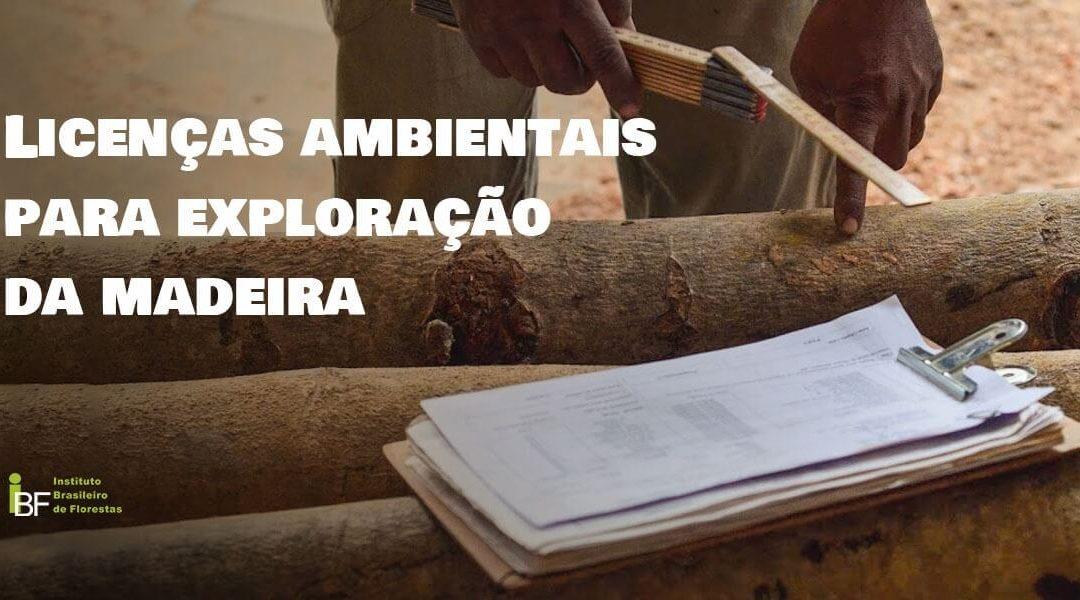 Licenças ambientais para exploração da madeira